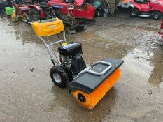 Brand New And Unused Stiga SWS800G Walk Behind Pedestrian Sweeper 3 Way Brush Self Propelled *NO VAT