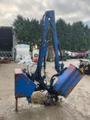 2006 ryetec sl420h hedge cutter, suitable for 3 point linkage, cable controlled *plus vat*