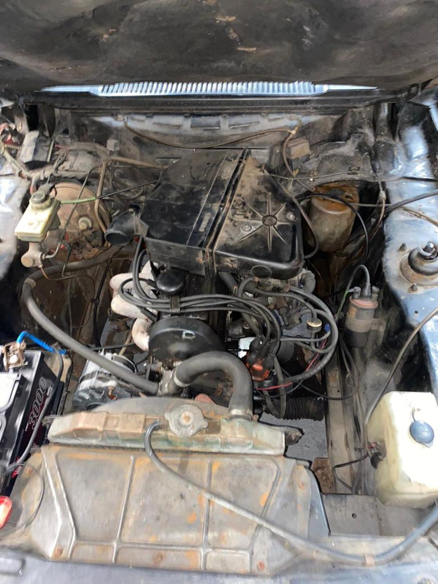 1986/C REG FORD CAPRI LASER AUTO 2.0 PETROL BLACK 3 DOOR *NO VAT* - Image 25 of 32