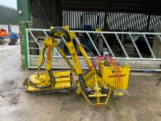 TWOSE Q-FT25 HEDGE CUTTER, PTO DRIVEN, SUITABLE FOR 3 POINT LINKAGE, CABLE CONTROLLED *PLUS VAT*