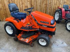 2009 KUBOTA G2160 DIESEL RIDE ON MOWER, IN EXCELLENT CONDITION, 1 OWNER FROM NEW *PLUS VAT*