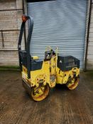 BOMAG 80 TWIN DRUM ROLLER, KUBOTA ENGINE, DIRECT COUNCIL *PLUS VAT*