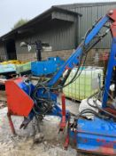2005 RYETEC SL420H HEDGE CUTTER, SUITABLE FOR 3 POINT LINKAGE, CABLE CONTROLLED, PTO DRIVEN