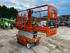 2018 SNORKEL S3219E ELECTRIC SCISSOR LIFT, LIKE NEW - EX DEMO CONDITION, DRIVES AND LIFTS *PLUS VAT*