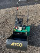 "ATCO CLIPPER 16"" CYLINDER MOWER, SELF PROPELLED, BRIGGS & STRATTON ENGINE *NO VAT*"