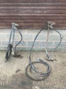 2 x concrete hydraulic roller strikers *PLUS VAT*