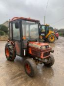 KUBOTA B2150 COMPACT TRACTOR, RUNS AND DRIVES, FULLY GLASS CAB, 2355 HOURS *PLUS VAT*