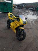 2004 SUZUKI SACHS XTC 125CC MOTORBIKE 4 STROKE, NEEDS A NEW BATTERY TO RUN *NO VAT*