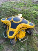 2013 RANSOMES SPIDER MINI 2, C/W REMOTE CONTROL, PETROL ENGINE *PLUS VAT*