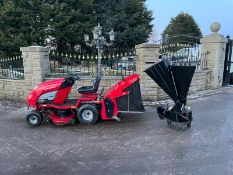 COUNTAX C600H RIDE ON MOWER, RUNS, DRIVES AND CUTS, CLEAN MACHINE, 16HP HONDA ENGINE, LOW 116 HOURS
