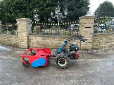 BCS 603 WITH FLAIL DECK, RUNS, WORKS AND MOWS, TWIN WHEELS *NO VAT*