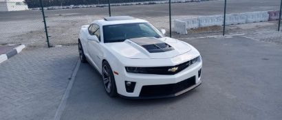 2013 ZL1 CHEVROLET CAMARO AMERICAN V8. LOW MILES. 580 BHP. Sold with Nova