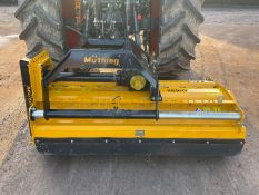 2015 MUTHING MU-H 160 31 FLAIL MOWER, SUITABLE FOR 3 POINT LINKAGE, ALL WORKS PTO DRIVEN, SIDE SHIFT