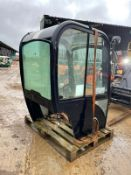 JCB 8014/8018 CAB, ALL IN TACT, GREAT CONDITION *PLUS VAT*