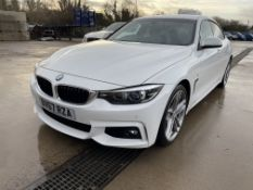 2017/67 BMW 420D GRAN COUPE M SPORT 2.0 DIESEL AUTOMATIC WHITE COUPE - MINT -IN PERFECT CONDITION!