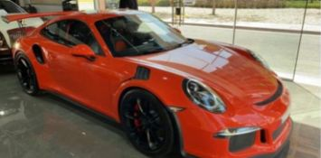 2016 Porsche Gt3rs full carbon spec 8k miles full service histroy 1 owner will be in uk mid january