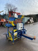 Believed to be a small stone crusher for use with screed or other applications. 415v. Un tested