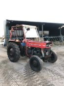 MASSEY FERGUSON 135 TRACTOR, RUNS AND WORKS WELL, REAR PTO, REAR 3 POINT LINKAGE *PLUS VAT*