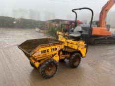 2001 Barford HDX750 high tip dumper, new tyres all round. Good working condition *PLUS VAT*