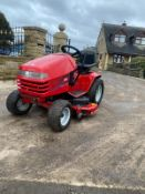 TORO WHEEL HORSE RIDE ON LAWN MOWER, RUNS, DRIVES AND CUTS, 700 HOURS FROM NEW, CLEAN MACHINE