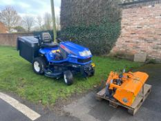 Iseki SXG19 Ride on Tractor Complete with Brand New – never used Low Dump Collector *PLUS VAT*