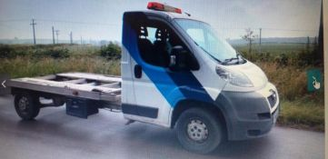2012/61 REG PEUGEOT BOXER 335 LWB 2.2 DIESEL WHITE RECOVERY TRUCK, SHOWING 3 FORMER KEEPERS *NO VAT*