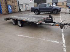 2014 Knott 3000kg Beavertail Car Transporter Trailer *PLUS VAT*