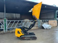 2017 JCB HTD-5 TRACKED DUMPER, RUNS, DRIVES AND TIPS, GOOD CONDITION, DIESEL ENGINE *PLUS VAT*