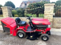 WESTWOOD T1800 RIDE ON LAWN MOWER, 18HP V TWIN ENGINE, RUNS, DRIVES AND CUTS *NO VAT* no reserve