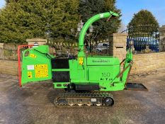 2014 GREENMECH ARBTRACK 150/35 TRACKED CHIPPER, RUNS, DRIVES AND CHIPS, CLEAN MACHINE *PLUS VAT*