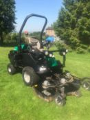 2010/10 REG RANSOMES HR 3300T OUTFRONT MOWER, RUNS, DRIVES AND CUTS *PLUS VAT*