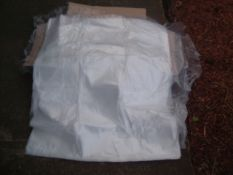 10 BOXES OF CLEAR PLASTIC BAGS 500 IN A BOX ALL SEALED AND NEW TOTAL 5000 BAGS *NO VAT*
