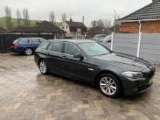 2011/60 REG BMW 520D SE AUTO 2.0 DIESEL GREY ESTATE, SHOWING 2 FORMER KEEPERS *NO VAT*