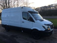 2015/65 REG MERCEDES-BENZ SPRINTER 313 CDI 2.2 DIESEL PANEL VAN, SHOWING 1 FORMER KEEPER *NO VAT*