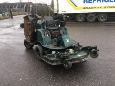 2003/03 REG HAYTER R314 4WD HYDROSTATIC RIDE ON DIESEL GREEN BAT WING WIDE AREA LAWN MOWER *NO VAT*