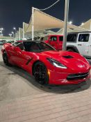 2014 Chevrolet Corvette C7 Z51 6.2L 8 Cylinder 460 HP LHD 62,500km carbon pack + many upgrade