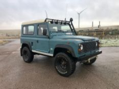 1987/E REG LAND ROVER 90 4C DEFENDER REG FT DIESEL 2.8 BLUE LIGHT 4X4 UTILITY *NO VAT*