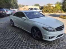 2008 Mercedes CL63 92,000km can export vat free available early March.