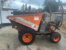 AUSA 4X4 DIESEL HI TIP DUMPER, DELIVERY ANYWHERE UK £300 *PLUS VAT*