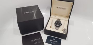TAG HEUER FORMULA 1 GENTS WATCH 41MM, BOX, GUARANTEE CARD & BOOKLET, STUNNING WATCH WAZ1116