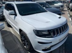 2015 Jeep Grand Cherokee SRT V8 72,000km