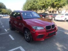 2010 BMW X5 M 75,000km can export vat free available early March.
