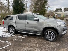 2016/65 REG NISSAN NP300 NAVARA TEKNA DCI 2.3 DIESEL GREY PICK-UP, SHOWING 1 FORMER KEEPER *PLUS VAT