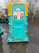 PORTALOO TOILET BLOCK, GOOD CONDITION *PLUS VAT*