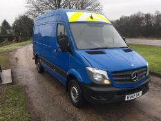 2015/65 REG MERCEDES-BENZ SPRINTER 313 CDI 2.2 DIESEL PANEL VAN, SHOWING 0 FORMER KEEPERS *NO VAT*
