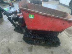 HONDA PETROL HI TIP TRACKED DUMPER, DELIVERY ANYWHERE UK £150 *PLUS VAT*