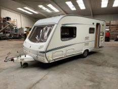 SWIFT ABBEY GTS VOGUE 417 SINGLE AXLE 3 BERTH CARAVAN *NO VAT*