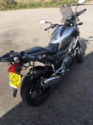 2013/13 REG HONDA NC 700 XA-C PETROL SILVER MOTORCYCLE / MOTORBIKE, SHOWING 2 FORMER KEEPERS *NO VAT