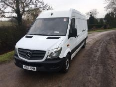 2015/65 REG MERCEDES-BENZ SPRINTER 310 CDI 2.2 DIESEL PANEL VAN, SHOWING 0 FORMER KEEPERS *NO VAT*