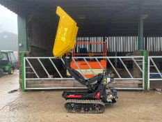 2017 CORMIDI C6.50 MINI TRACKED DUMPER, RUNS, DRIVES AND TIPS, HI TIP, PETROL ENGINE *PLUS VAT*